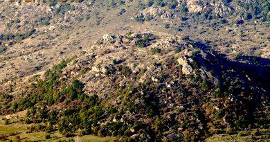 Локалитетот Маркови Кули (Градиштето) од југ