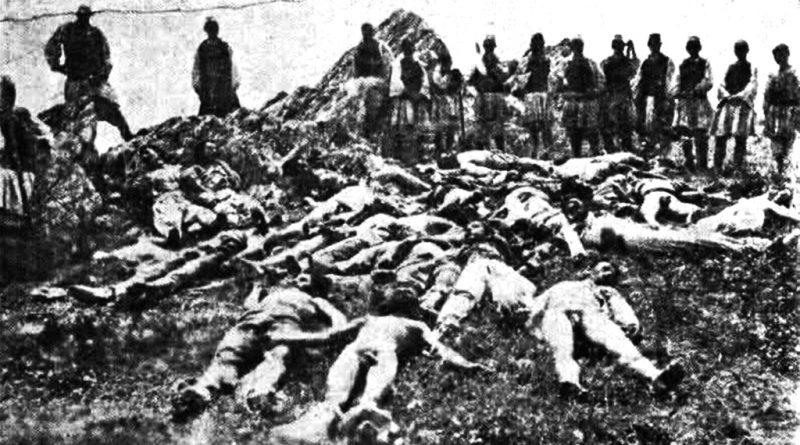 """По завржувањето на битката на """"Ножот"""" - фото од Ѓузепе Луци"""