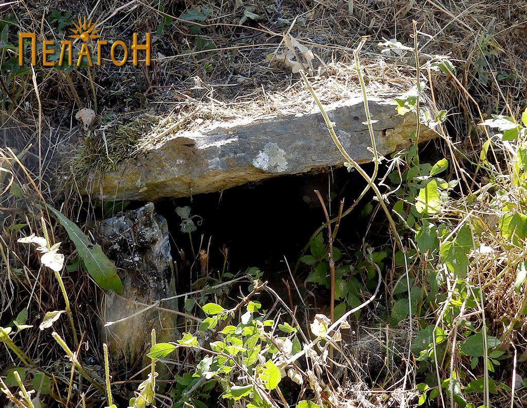 """Гроб од типот циста во близина на црквата """"Св. Петар и Павле"""""""