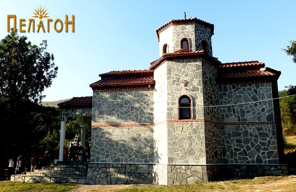 """Новата црква во манастирот """"Св. Петка"""""""