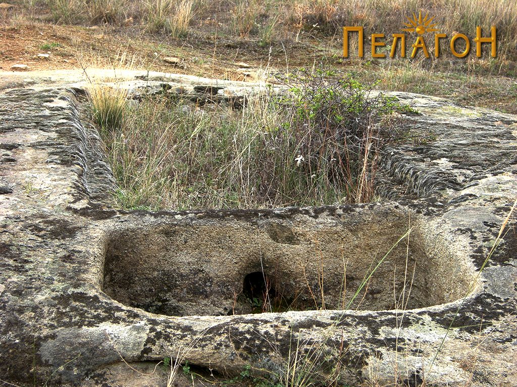 Винарник во карпа во рамките на некрополата 2