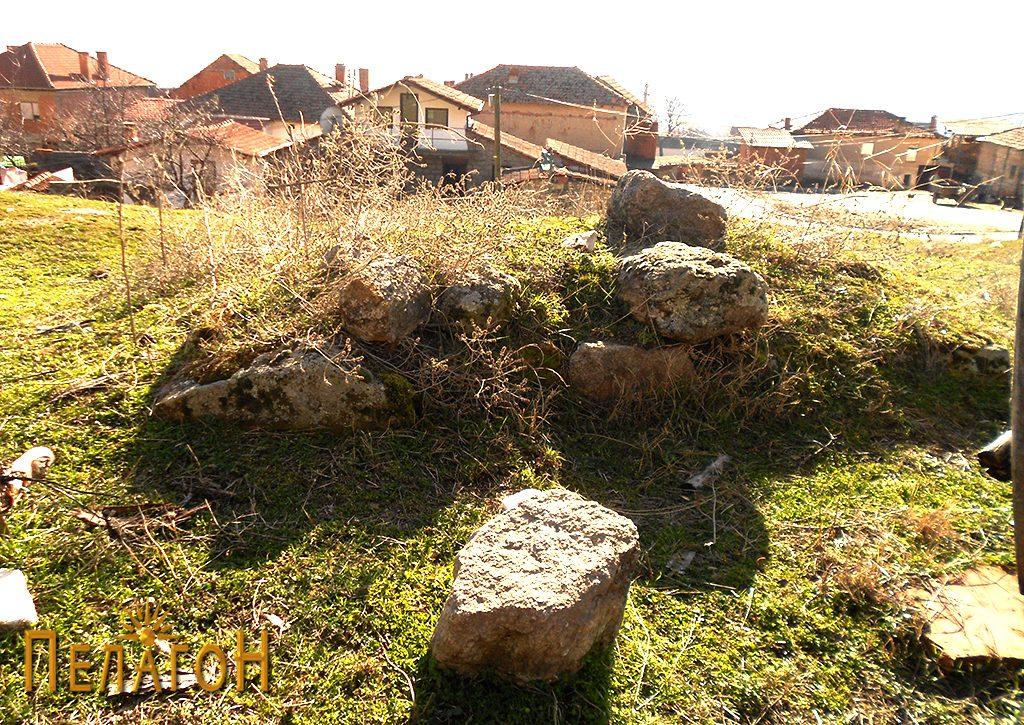 Остатоци од могилата денес 2