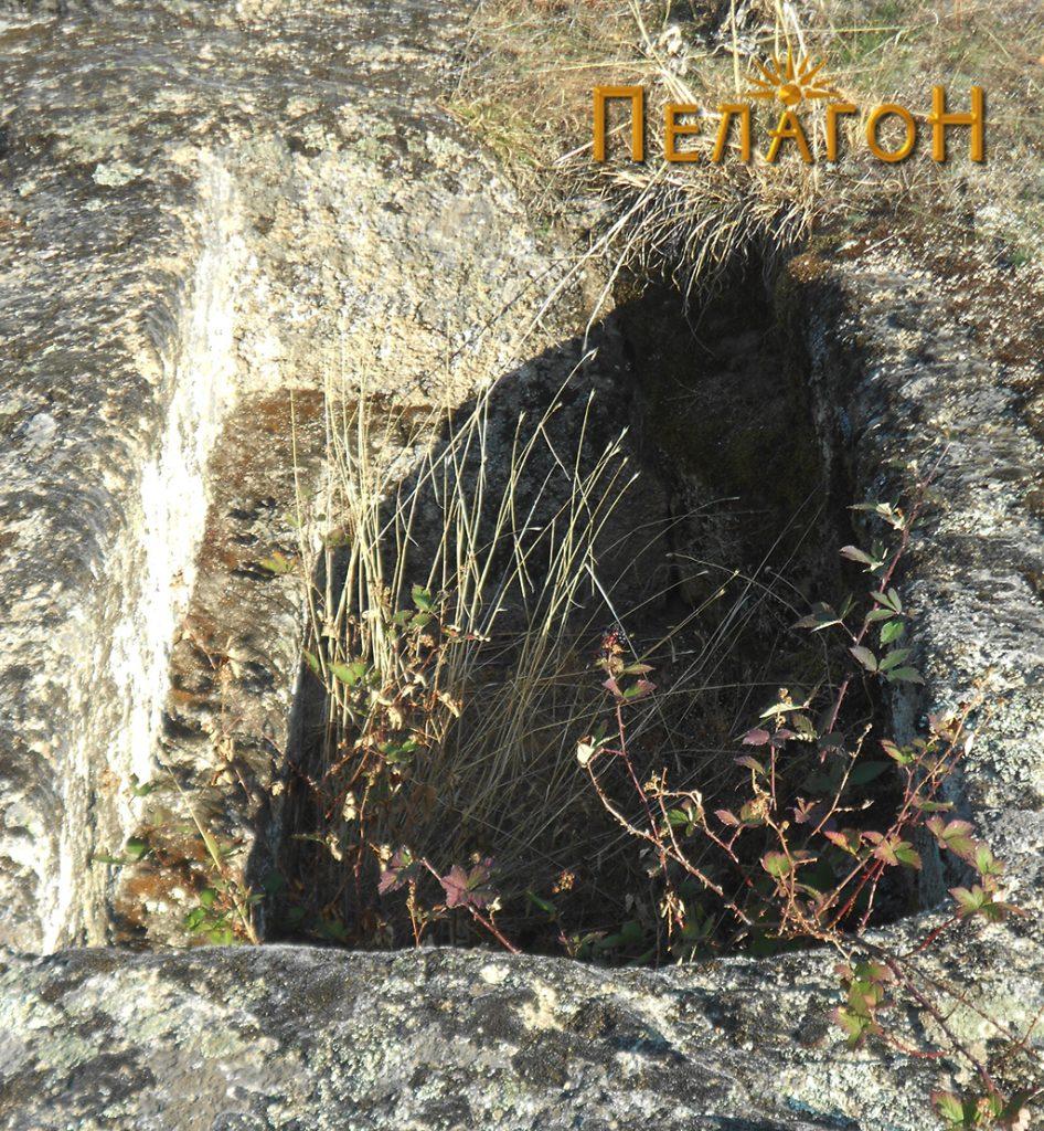 Формата на гробната јама
