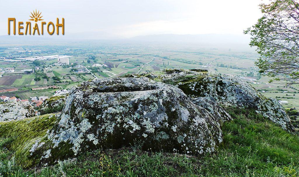 """Некрополата во камен од југозападната страна на """"Рамниште"""""""