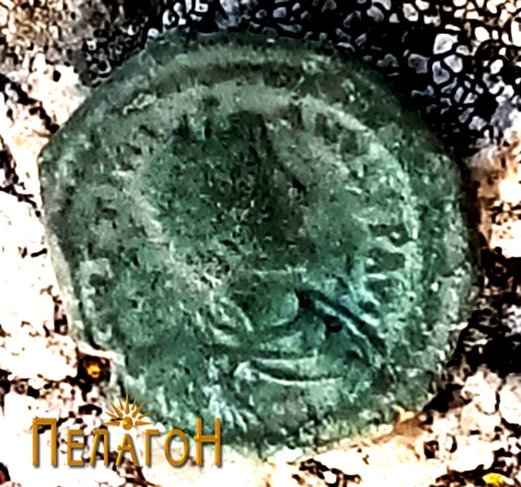 """Монета од римскиот период од """"Рамниште"""""""