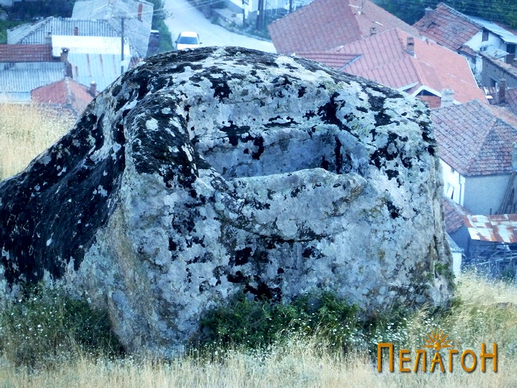 Карпата со голема форма резервоар снад Варосх