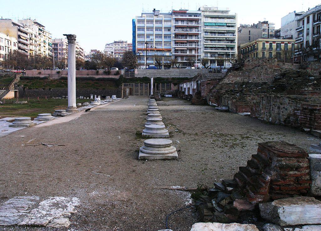 Античката Агора од градот Тесалоника (Солун)
