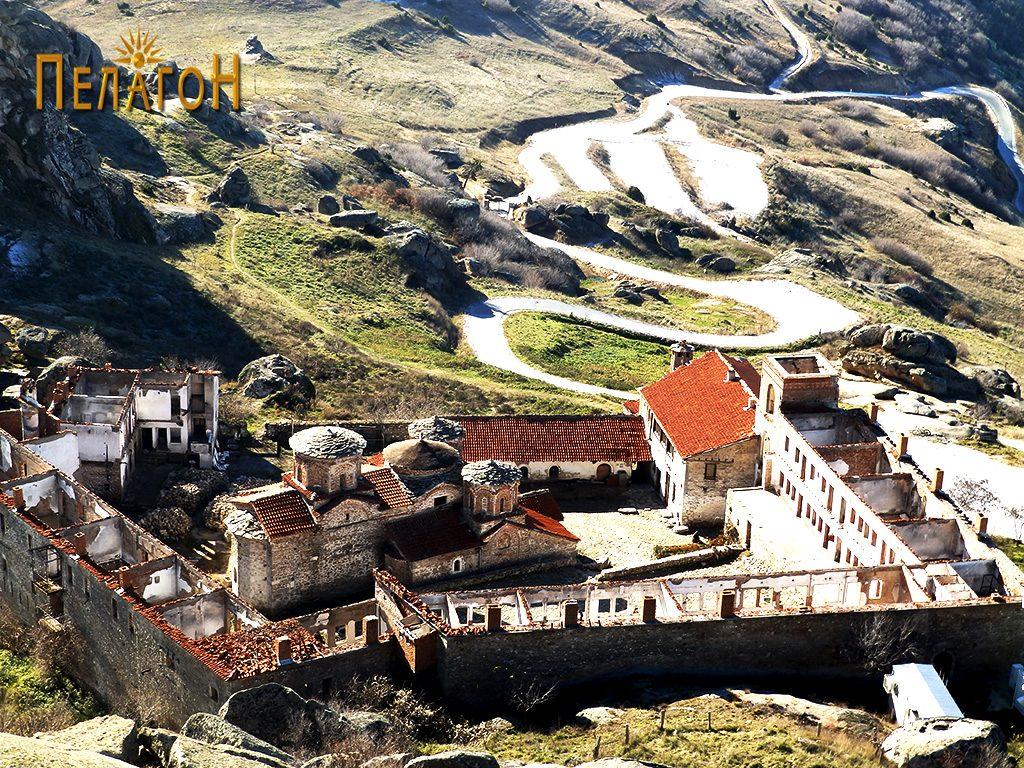 "Манастирот ""Успение на Пресвета Богородица - Трескавец"" кај Прилеп"