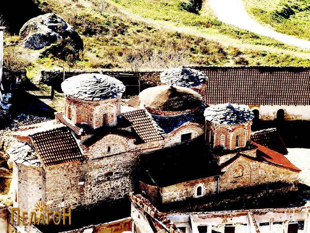 """Црквата во манастирот """"Успение на Пресвета Богородица - Трескавец"""" кај Прилеп 4"""