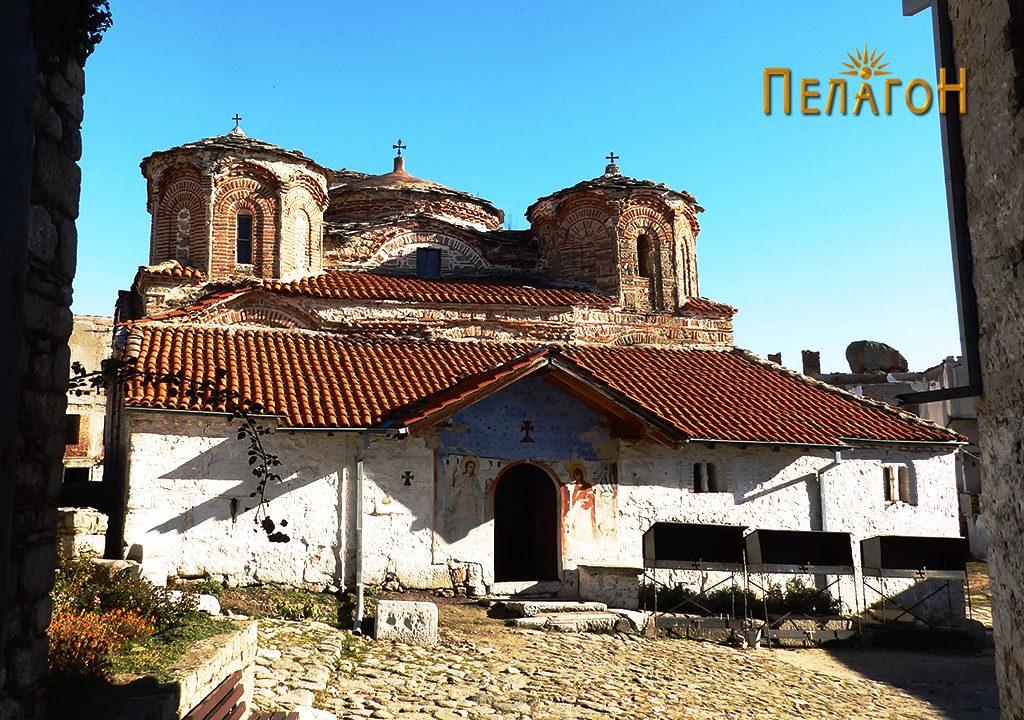 """Црквата во манастирот """"Успение на Пресвета Богородица - Трескавец"""" кај Прилеп 3"""
