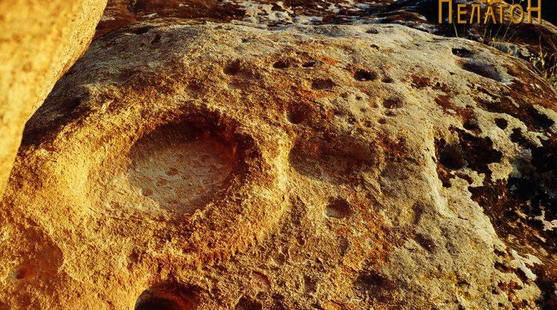 Централниот дел со врежаната симболика и други култирни форми