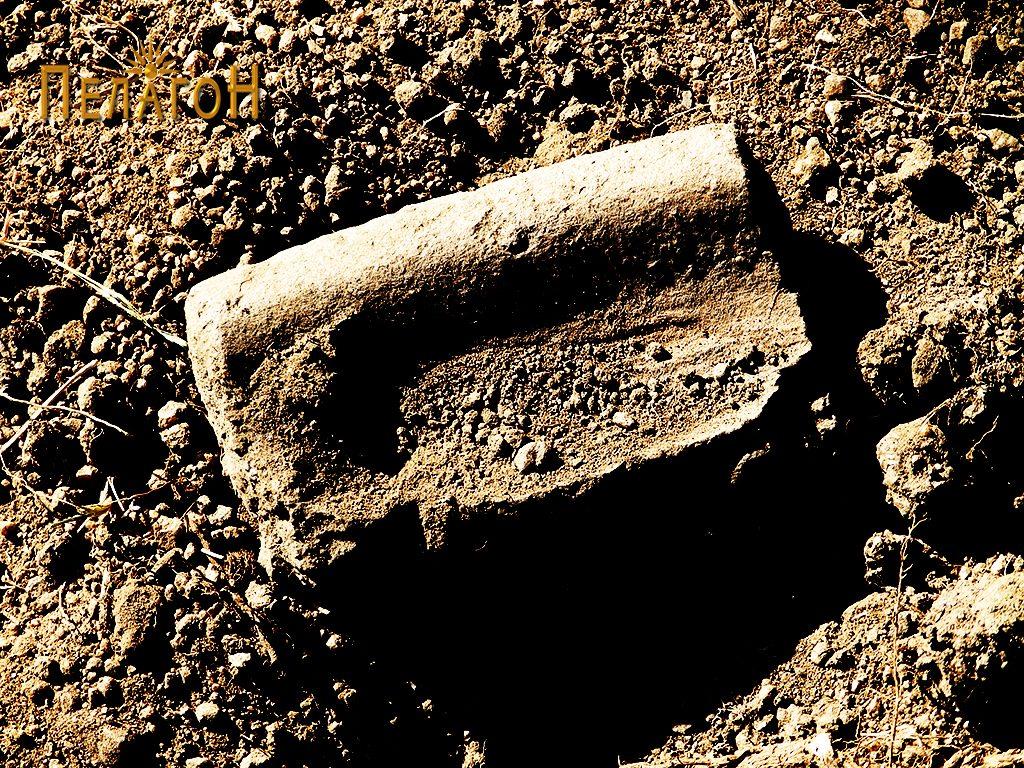 Фрагмент од црепна