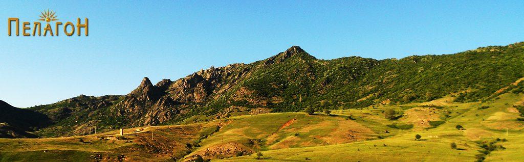 Планината над селото Прилепец со врвот Коњарник