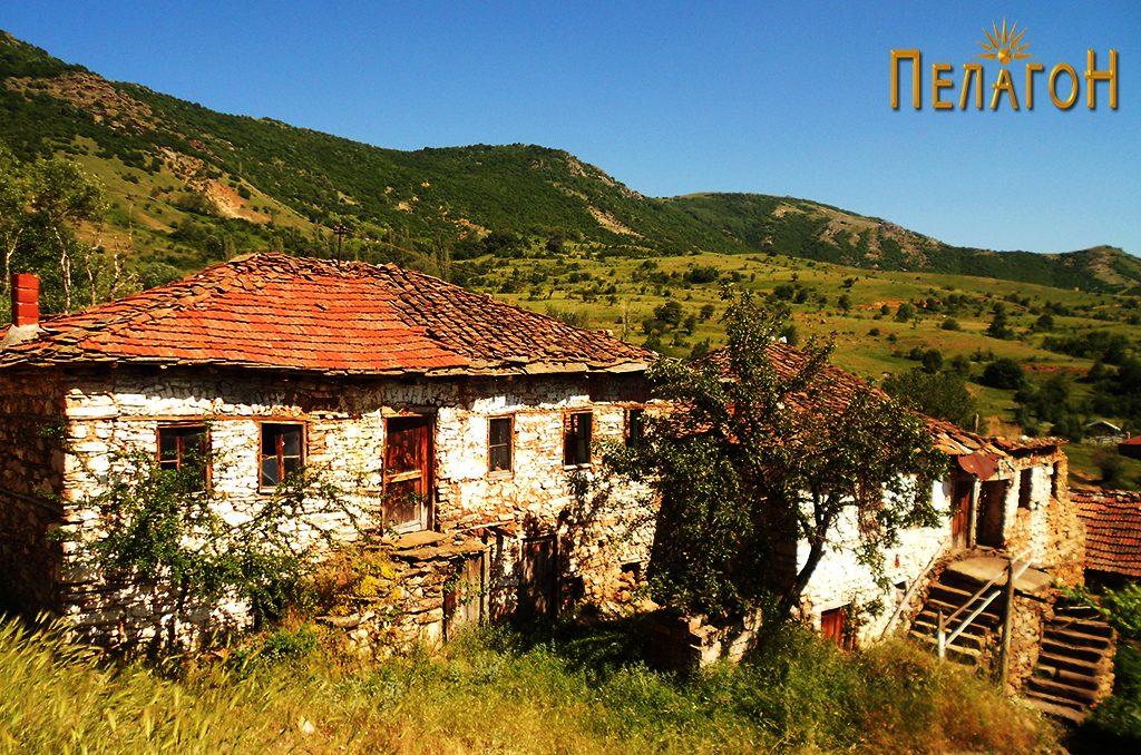 Куќите на Џамовци во селото Прилепец