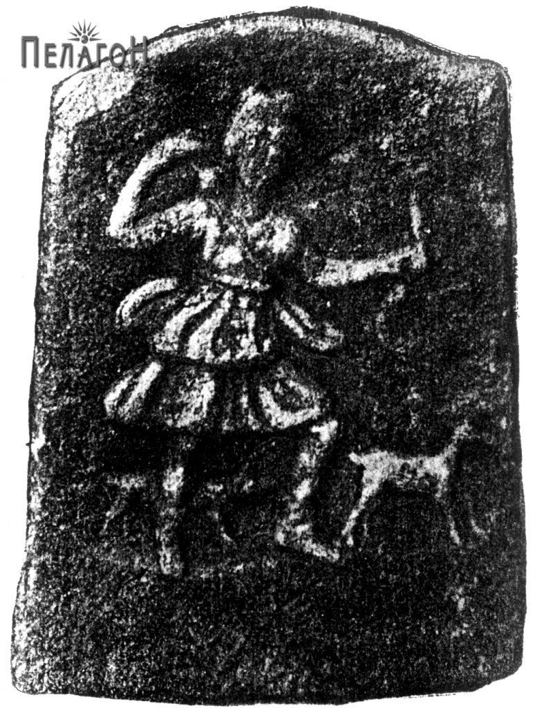 Плочата со божицата Артемида (Дијана)