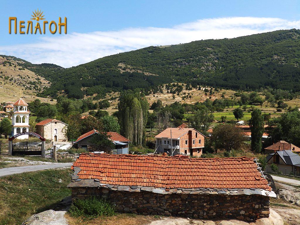Дел од селото Штавица