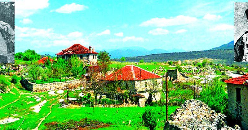 Селото Зовиќ со Крсте гермов - Шакир и Трајко Кралот