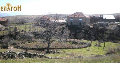 Местото на битката според кажувањето на жителите