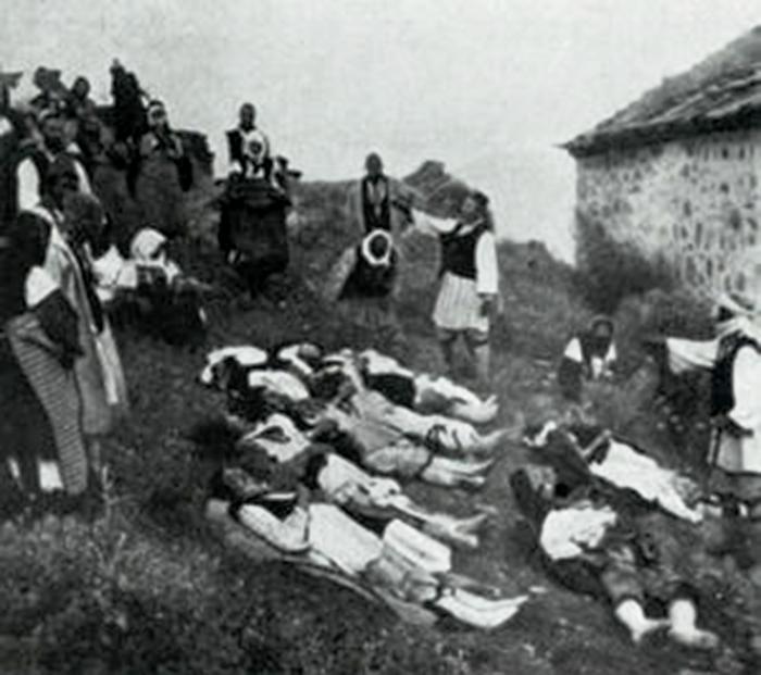 Од масакрот на грчките андарти во селото Брник