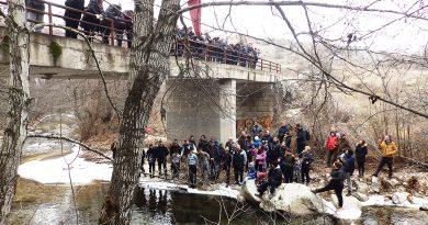 На мостот на реката Белица 2