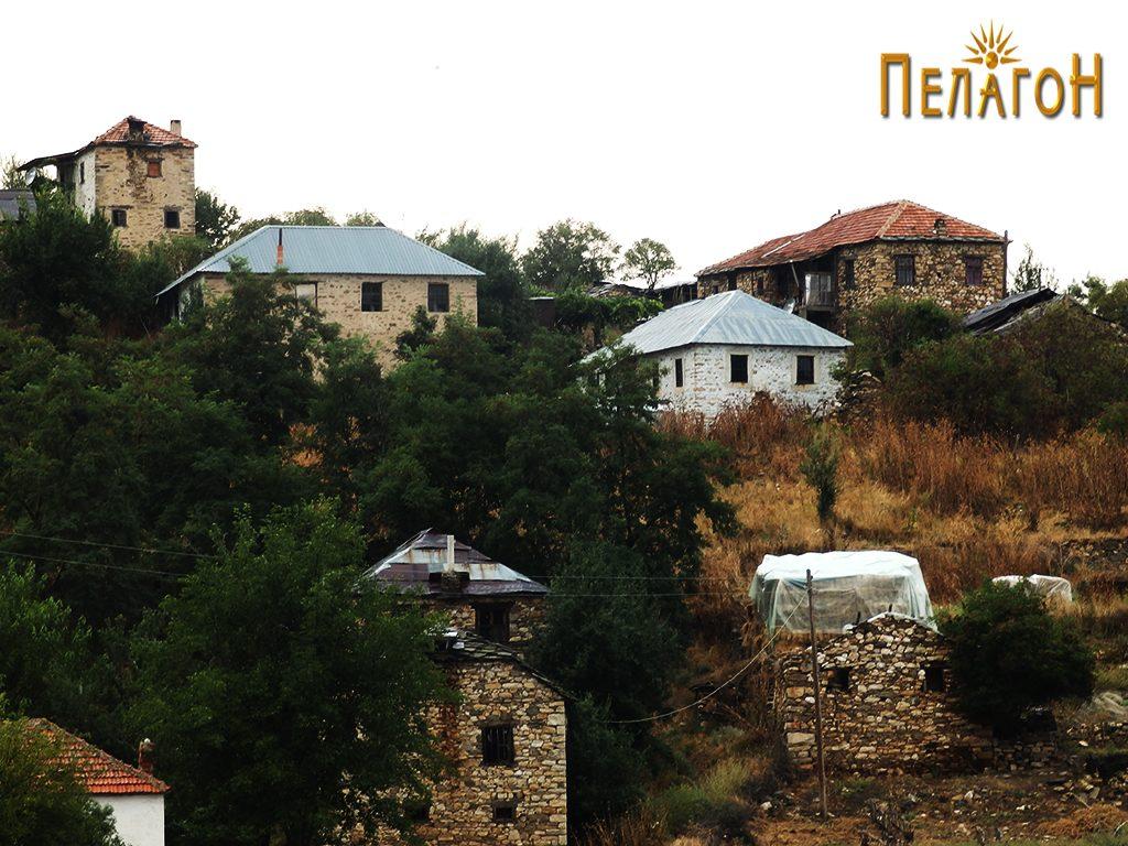 Дел од селото Рапеш